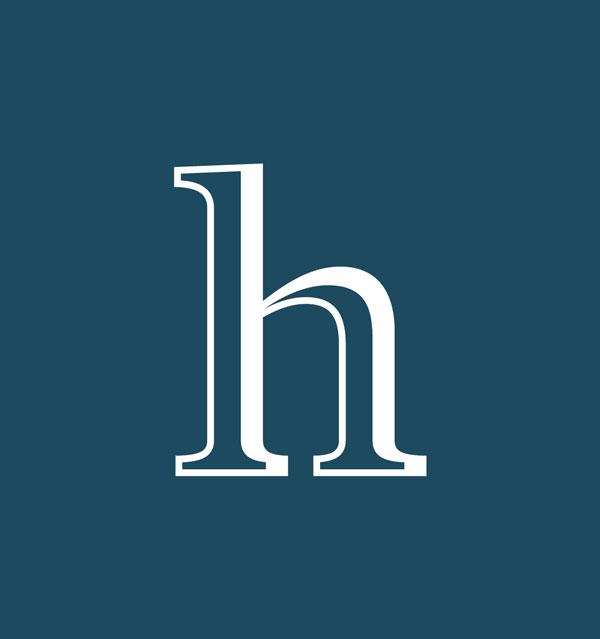 Vores team logo med h for Hejm